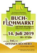 2019 Buchflohmarkt in Pflaumheim